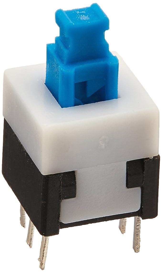 Lot de 30type de verrouillage Mini DPDT 6pins carré 8Bouton interrupteur