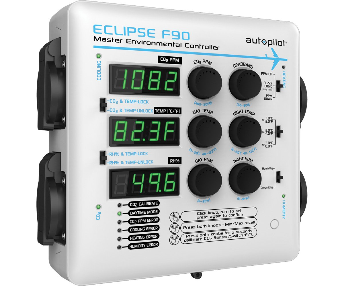 White AutoPilot APE4200 Eclipse F90 Master Environmental Controller