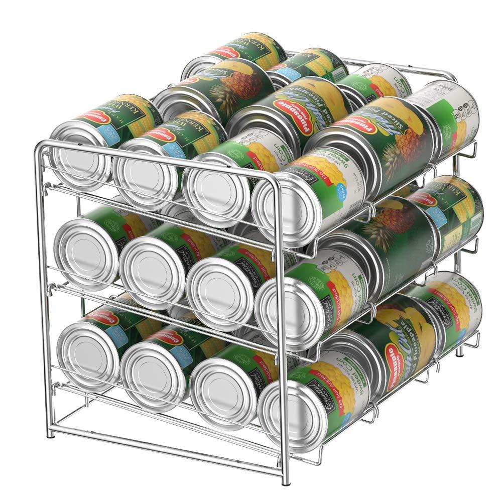 3 Tier Stacking Can Dispenser Rack Organizer by NEX