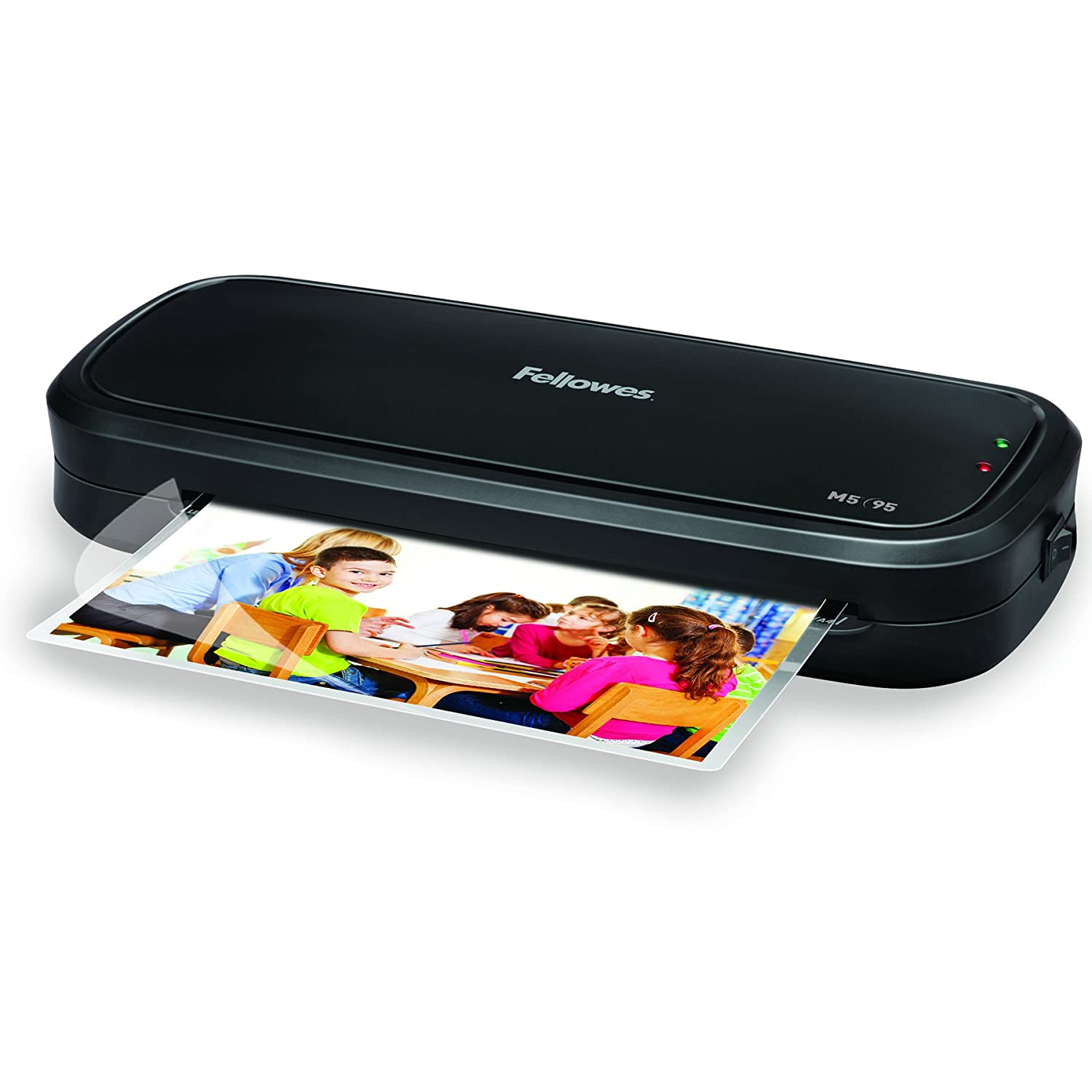 Fellowes 5737601 Laminator with Pouch Starter Kit, Black Fellowes Canada Ltd M5-95
