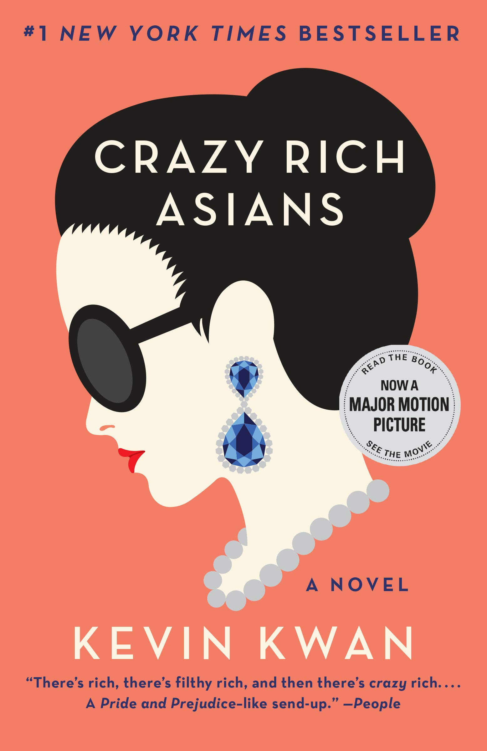 Crazy Rich Asians (Crazy Rich Asians Trilogy): Kwan, Kevin: 9780345803788:  Amazon.com: Books