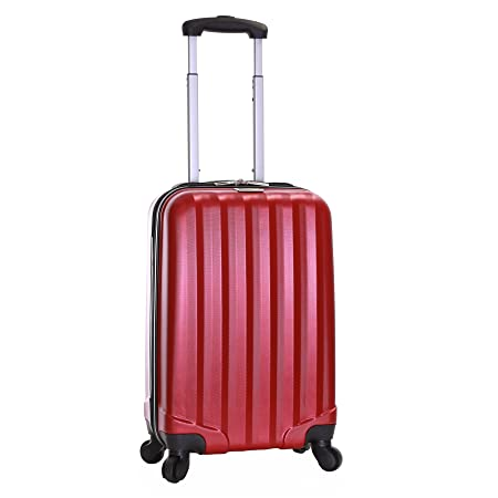 0faeea9cf Slimbridge Banff Super Lightweight ABS Hard Shell Travel Carry On Cabin  Hand Luggage Suitcase with 4