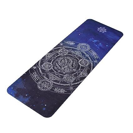 Alfombra de yoga alfombra de goma Tela ecológica, Bikram ...