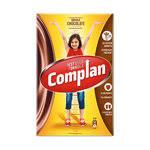 Complan Nutrition and Health Drink - 750gm Carton (Royale Chocolate)