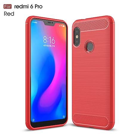 Sportfun Funda Xiaomi Mi A2 Lite, Ultra Delgado Protectiva Carcasa Case Cover de Silicona para Xiaomi Mi A2 Lite