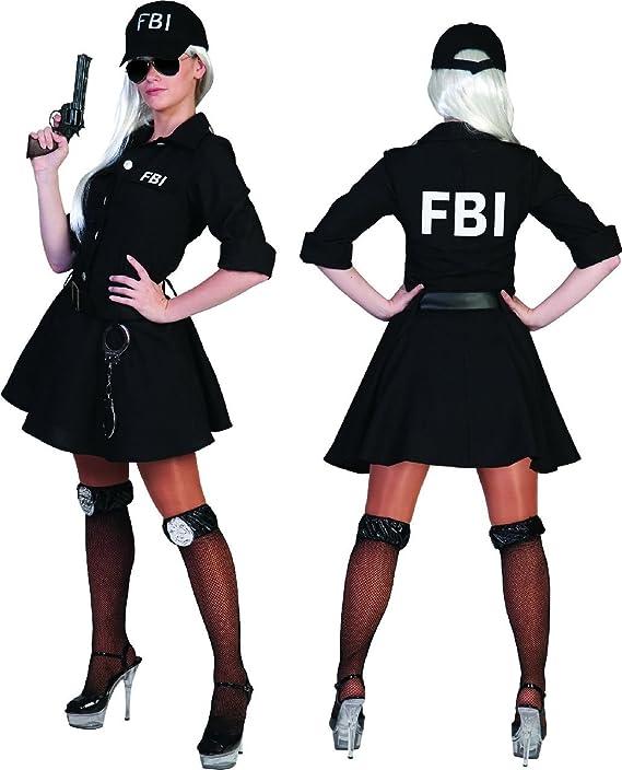Disfraz de carnaval Klamotten agente del FBI señora ...