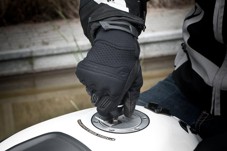 Noir D/ét/é Cuir Homme Classique Gants Moto Shima AIR MEN S-4XL Taille:M
