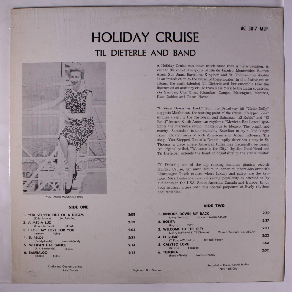 TIL DIETERLE & BAND - holiday cruise LP - Amazon.com Music