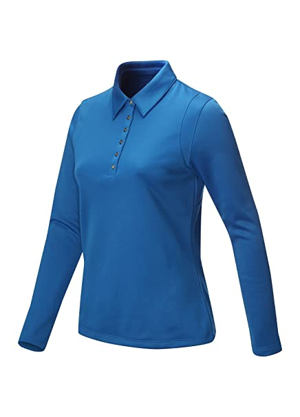 Callaway Golf señoras camisa de Polo de manga larga, mujer, color ...