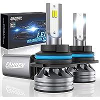 Fahren 9007/HB5 LED Headlight Bulbs, 60W 12000 Lumens Super Bright LED Headlights Conversion Kit 6500K Cool White IP68…