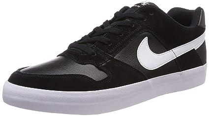 28a087fbb6897d Nike Men s Sb Delta Force Vulc Black White - Anthracite Ankle-High Leather  Skateboarding