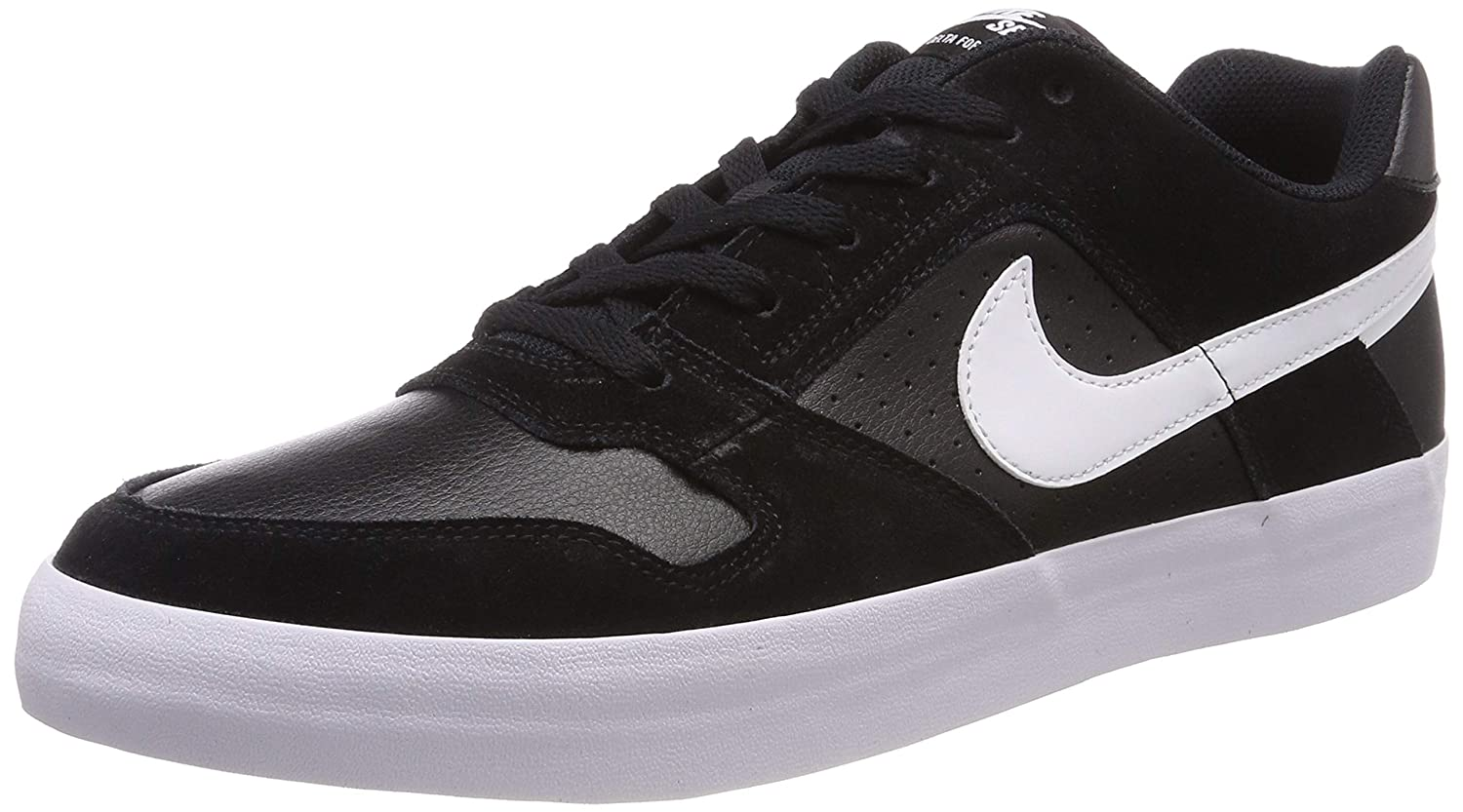 a588a54ff8ae7 Amazon.com   Nike Men's Sb Delta Force Vulc Black/White - Anthracite  Ankle-High Leather Skateboarding Shoe 10.5M   Fashion Sneakers