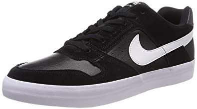 682e430636cf Image Unavailable. Image not available for. Color  Nike Men s Sb Delta  Force Vulc Black White ...