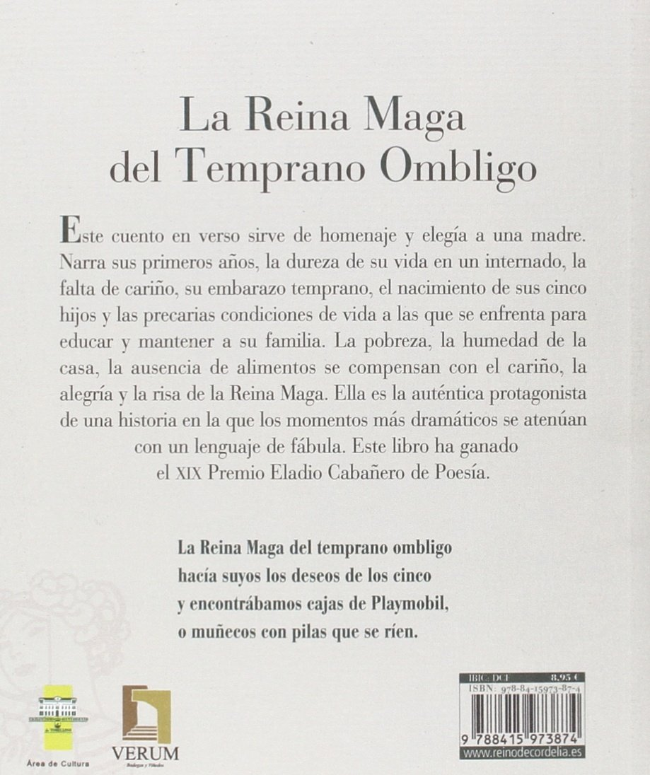 La Reina Maga del temprano ombligo: Mª Teresa Amondarain [Ramos]: 9788415973874: Amazon.com: Books