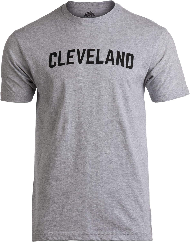 Cleveland | Classic Retro Grey Clevelander Ohio Cleve CLE 216 Men Women T-Shirt