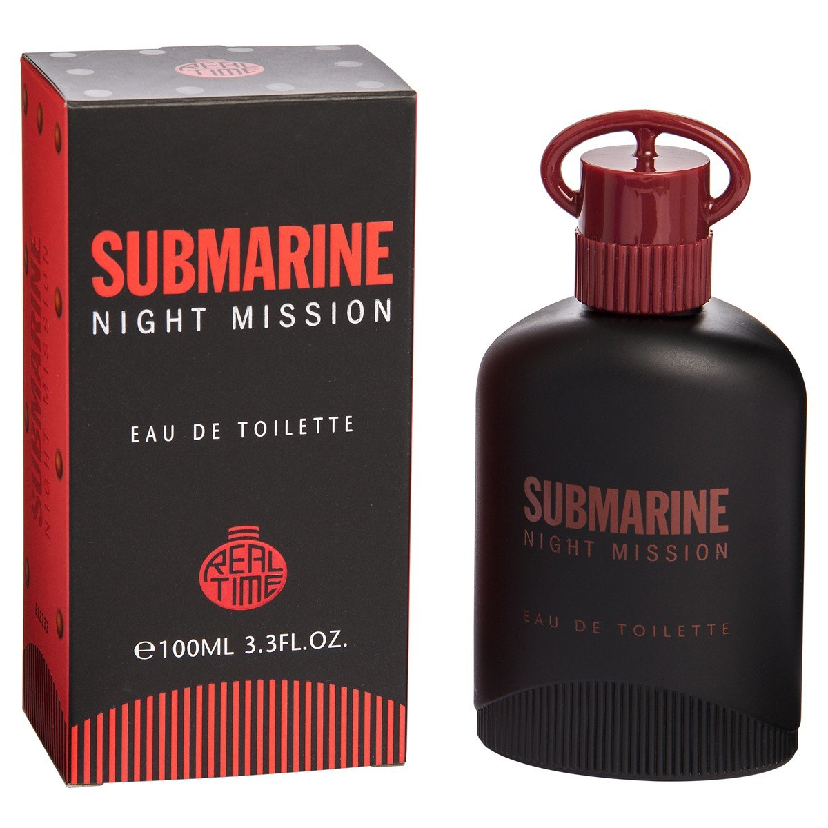 Real Time Submarine Night Mission Mens Eau De Toilette 100 Ml