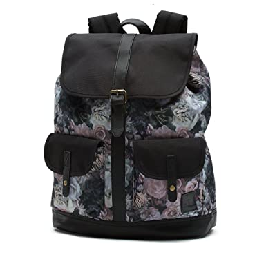 Vans womens LEAN IN BACKPACK VN-A31SMQIU - VELVET FLORAL  Amazon.co ... 10e5c262ac9d5