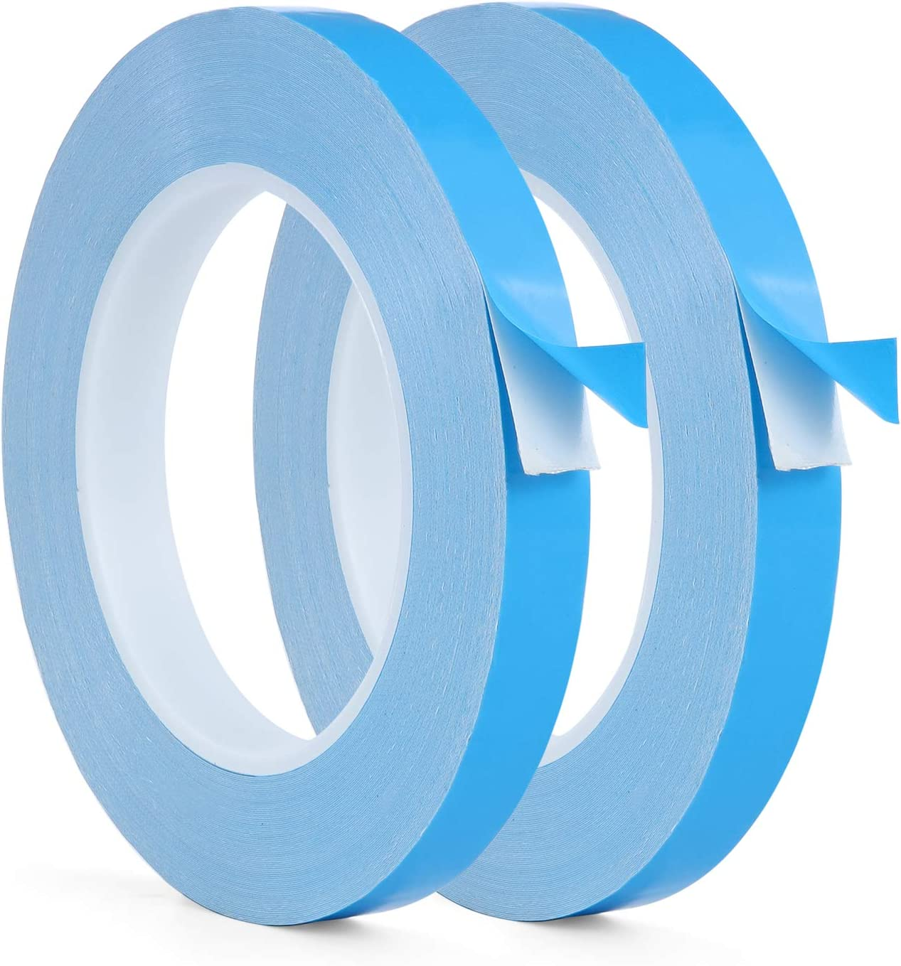 1 Roll,1 in x 82 ft Thermal Adhesive Tape,iVict High Performance Double Sided Thermally Conductive Tape Apply to Heatsinks LED Strips IC Chip Computer CPU GPU Modules