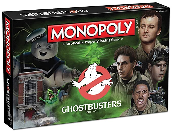 Ghostbusters Monopoly Board Game