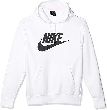 Laos Persistencia Joseph Banks  Amazon.com: Nike Men's Sportswear Club Fleece Hoodie (L, White/Black):  Clothing