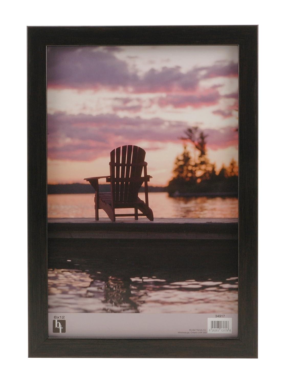 Amazon.com - BorderTrends Echo 8x12-Inch Wall Photo Frame, Espresso ...