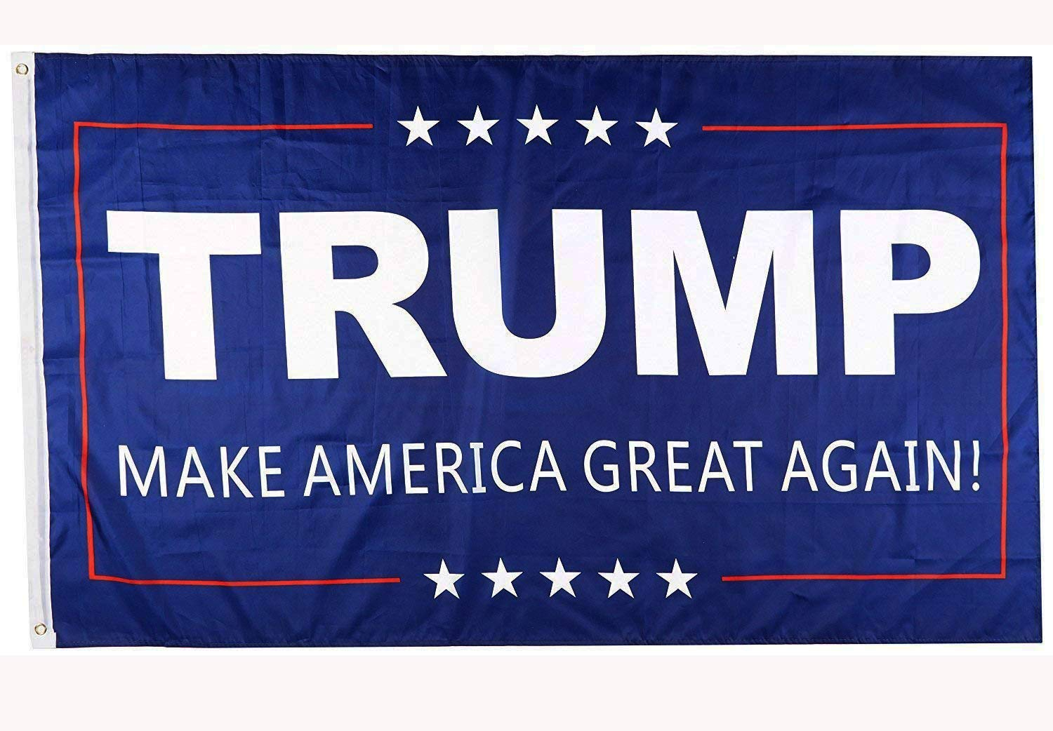 DFLIVE Donald Trump For President 3×5 Feet Printed Flag Make America Great Again With Grommets
