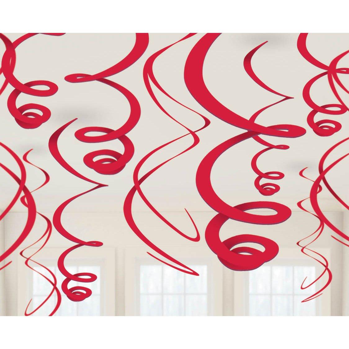 Amscan 67055-40-55 55 cm Plastic Swirls Decorations Amscan International 67055.4