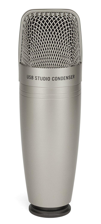 Samson C01U Pro USB Studio Condenser Microphone by Samson Technologies
