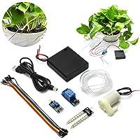 Gikfun Soil Moisture Sensor kit d'arrosage Automatique System Manager Mini Pompe à Eau de Jardin Arduino DIY Kit Ek1915u
