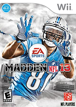 Madden NFL 13 - Nintendo Wii  Amazon.co.uk  PC   Video Games cedcdc11202b0