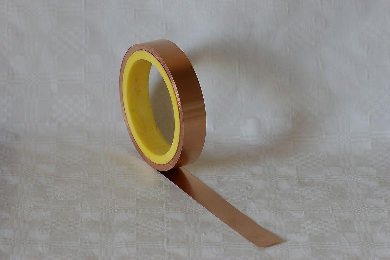 Copper Foil 20 m Reel, 0,035 x 10 mm, 1 Blechmaennle