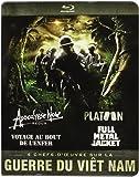 Guerre du Vietnam - Coffret 4 films : Apocalypse Now + Platoon + Full Metal Jacket + Voyage au bout de l'enfer [Blu-ray]