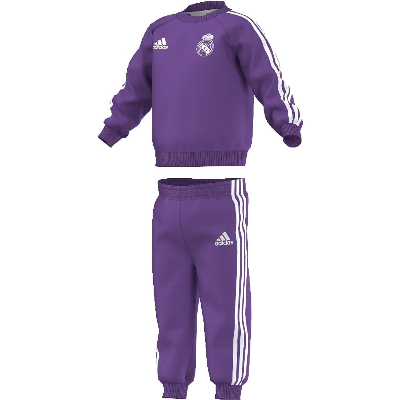 adidas Real Madrid 3S Bbyjogg Conjunto, Morado (Vioray ...