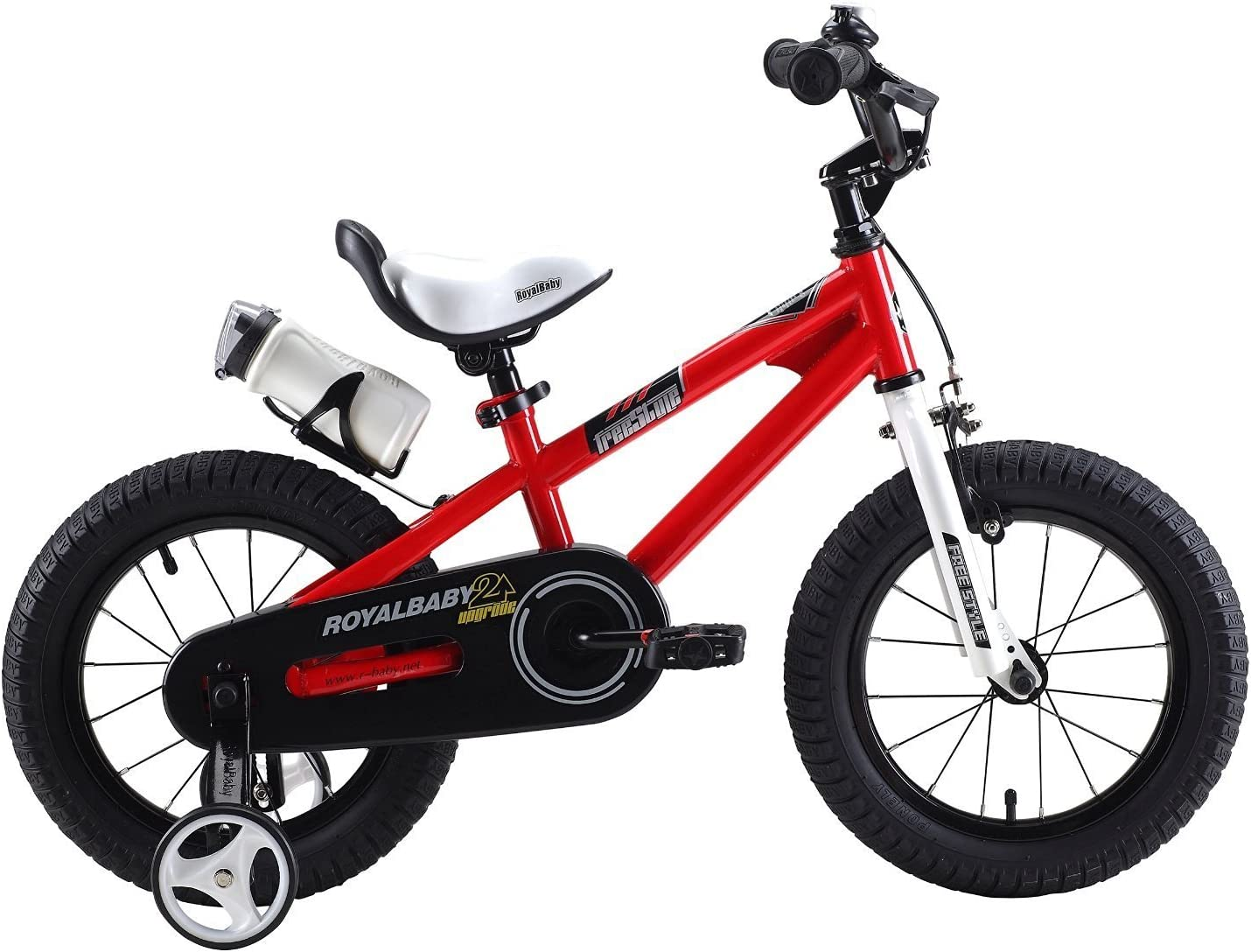 """water bottle and holder. 14/"""" 16/"""" Royalbaby freestyle boy/'s girl/'s kids children child bike bicycle 6 colours 18/"""" with stabilisers 12/"""""""