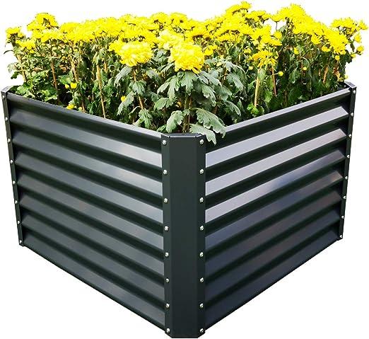 o verdura barbabietola//Komposter//Sabbia cassetta//Serra//fiore//coltura letto//Sistema Beet UPP Multifunzione rialzata Flessibile /& espandibile in antracite ideale per fiori