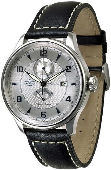 Zeno-Watch Reloj Mujer - Godat II GMT + Power Reserve - 6273GMTPR-g3