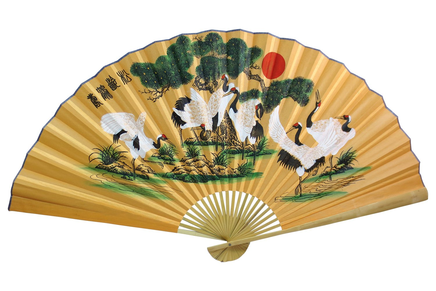 Amazon.com: Oriental Feng Shui Wall Fan | Asian Wall Decor 35"|1500|1000|?|450d65dd11ce0698ee4ce55547be859d|False|UNLIKELY|0.3504548668861389