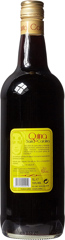 Quina Santa Catalina Vino Dulce, 1L