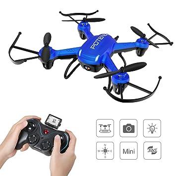 Potensic Hover Drone 186C con Cámara HD 2MP, Regalo Navidad para ...
