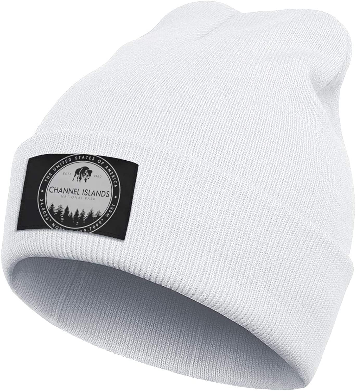 Caps Perfect for Hiking and Many More Outdoor Activities Mens Knitting Beanie Channel-Islands-National-Park