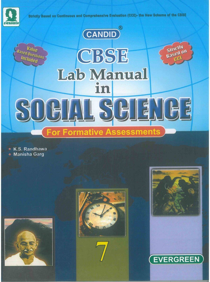 Candid Lab Manual in Social Science (Class 7): Amazon.in: K S Randhawa,  Manisha Garg: Books