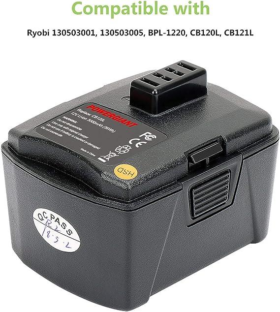 3Ah 12V GC Akku für Ryobi LSD-1202PB LSDT1201 LSDT1202 R12SD