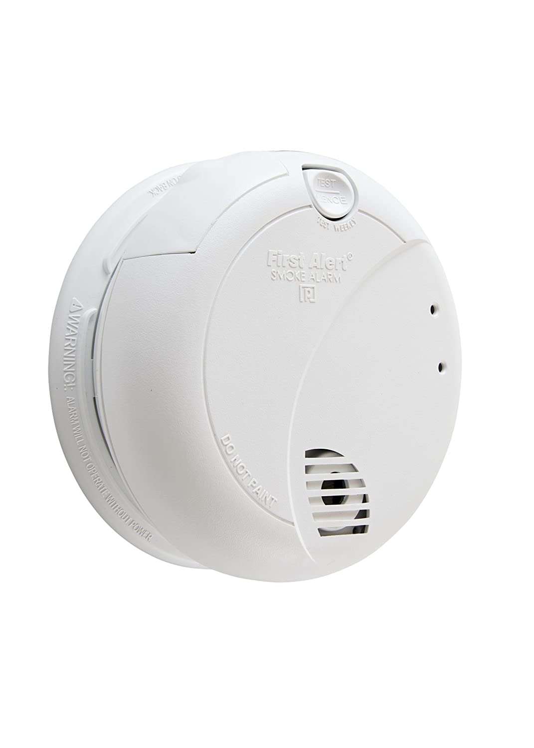 First Alert Brk 7010b Hardwire Smoke Alarm With Photoelectric Sensor Hard Wired Wiring Diagram Free Download And Battery Backup Detectors