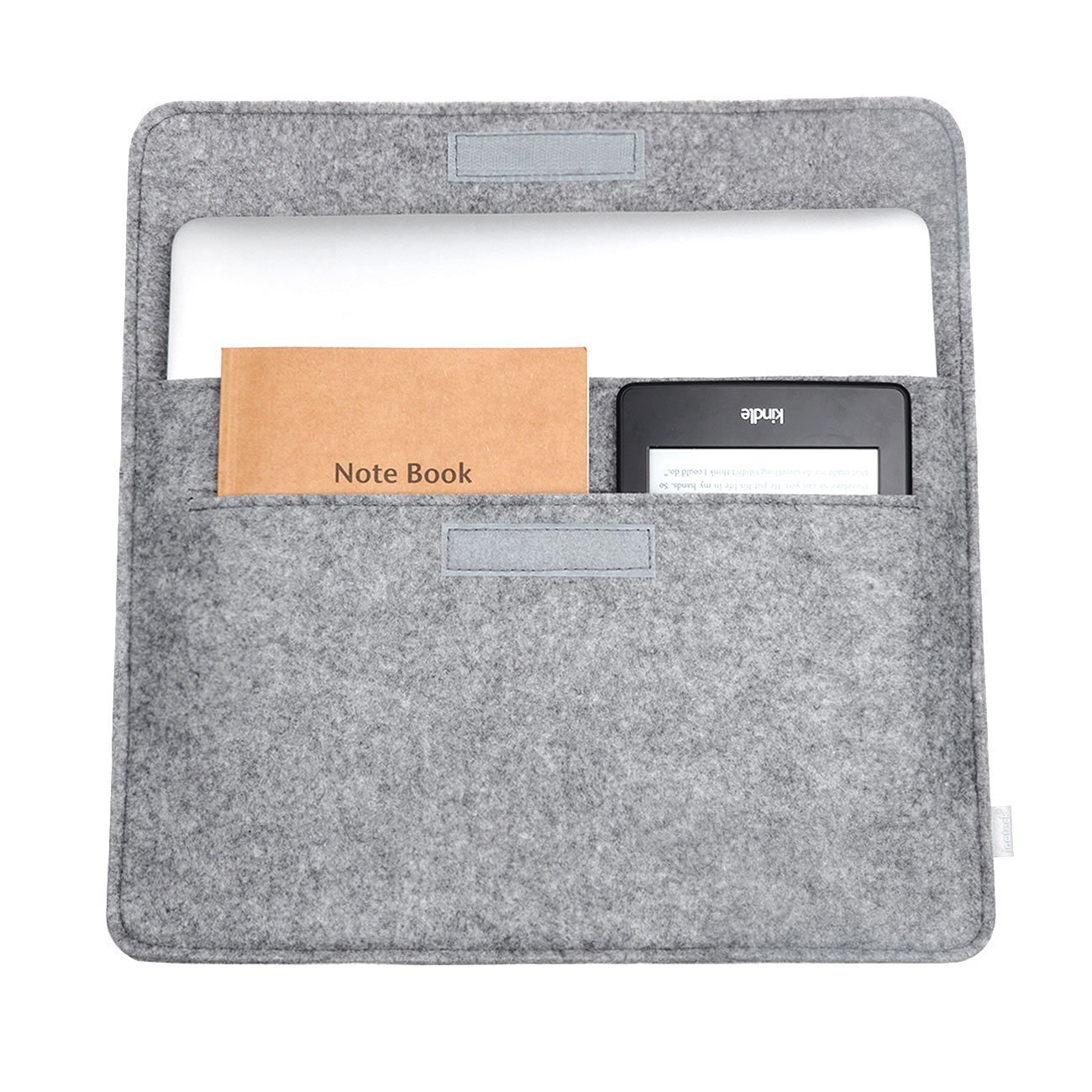Dark Gray Inateck 12.3-13 Inch Laptop Sleeve Case Compatible MacBook Pro 13 2018//2017//2016 //Microsoft Surface Pro 6//5//4//3 A1989//A1706//A1708 2018 MacBook Air