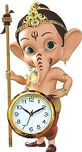 Bal Ganesha Wall Clock