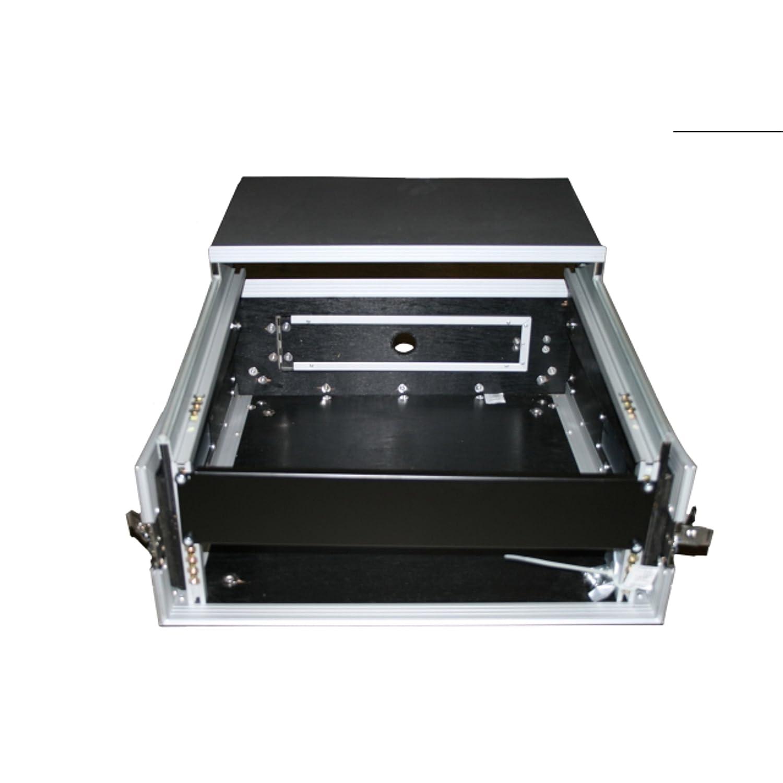 Digital DJ Case 1, 19 L-Rack 2HE/10HE + Laptopablage MUSIC STORE