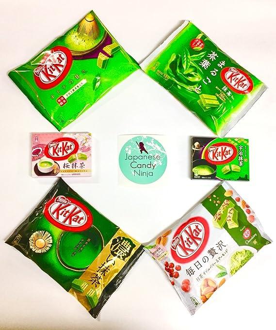 Kit Kat Japanese Matcha Green Tea Special Set -- Ultimate ...