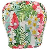 KIDSALON Baby Premium Reusable Swim Diaper Leakproof Adjustable Infant Pool Pant (Flamingo1)