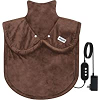 Heating Pad for Neck and Shoulders, Heating Pad for Body Heat Pad with Auto Shut Off Timer. X Large Full Back Heating Pad. Electric Therapy Arthritis Heating Pad. Christmas Gift. 31''*24''