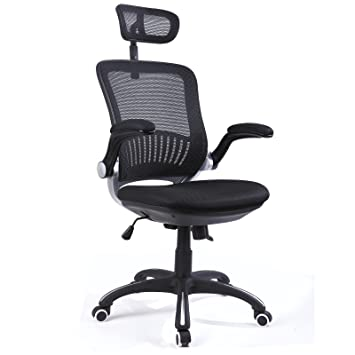 Hu0026L Office High Back Mesh Multi Functional Executive U0026 Managerial Computer  Desk Swivel Office Chair